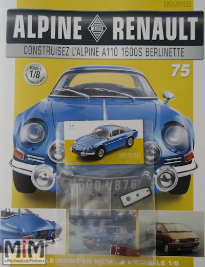 Alpine Renault A110 1600S berlinette - Fascicule 75