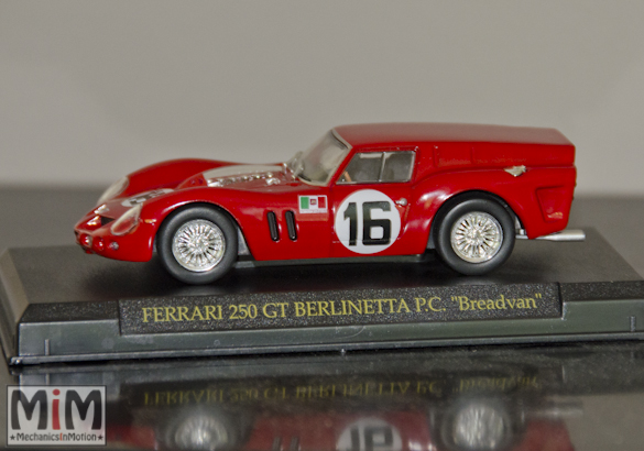 Hachette GT Collection Ferrari 250 GT berlinetta Breadvan