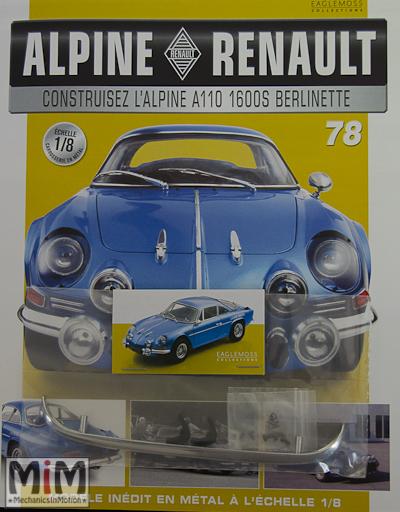 Alpine Renault A110 1600S berlinette - Fascicule 78