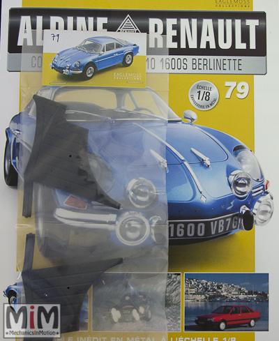 Alpine Renault A110 1600S berlinette - Fascicule 79