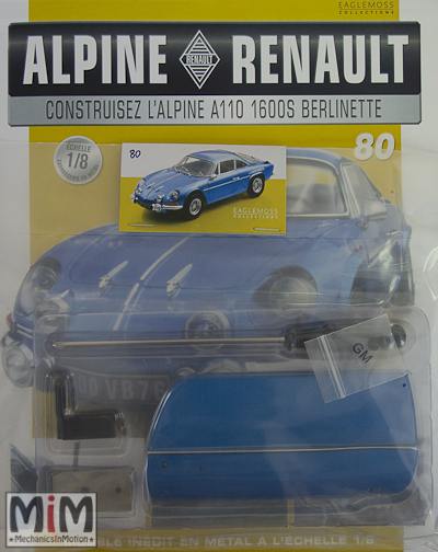 Alpine Renault A110 1600S berlinette - Fascicule 80