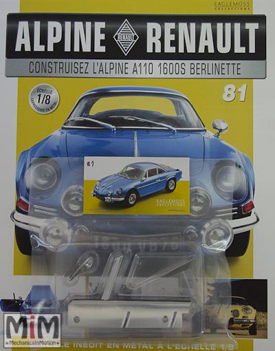 Alpine Renault A110 1600S berlinette - Fascicule 81