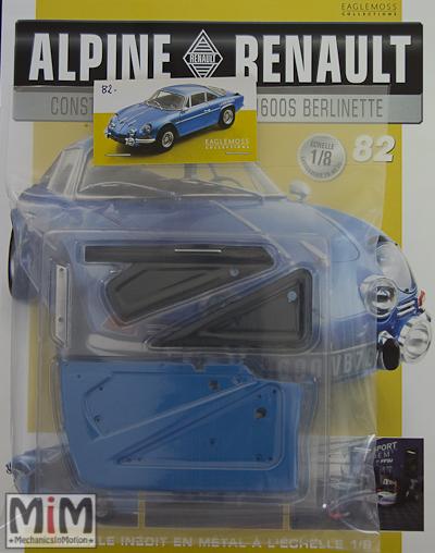 Alpine Renault A110 1600S berlinette - Fascicule 82