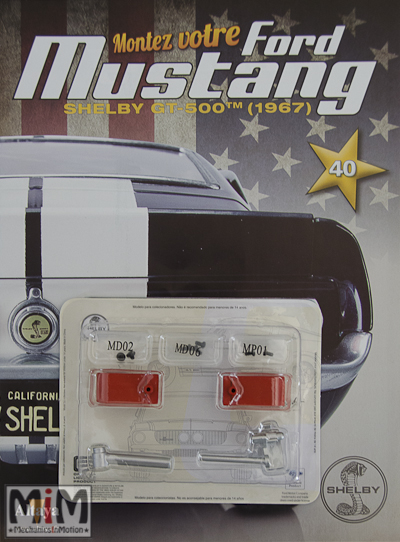 Ford Mustang Shelby GT 500 au 1:8 - fascicule 40