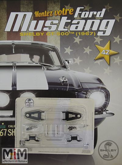Ford Mustang Shelby GT 500 au 1:8 - fascicule 42