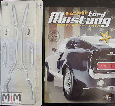 Ford Mustang Shelby GT 500 au 1:8 - fascicule 43