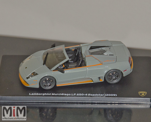 Hachette Lamborghini Collection | Lamborghini Murciélago LP 650-4 Roadster