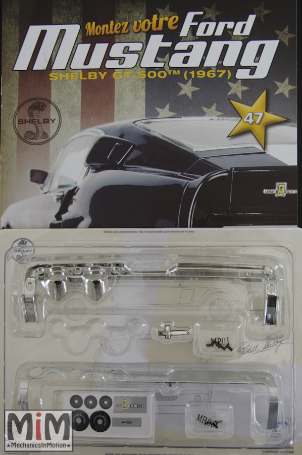 Ford Mustang Shelby GT 500 au 1:8 - fascicule 47