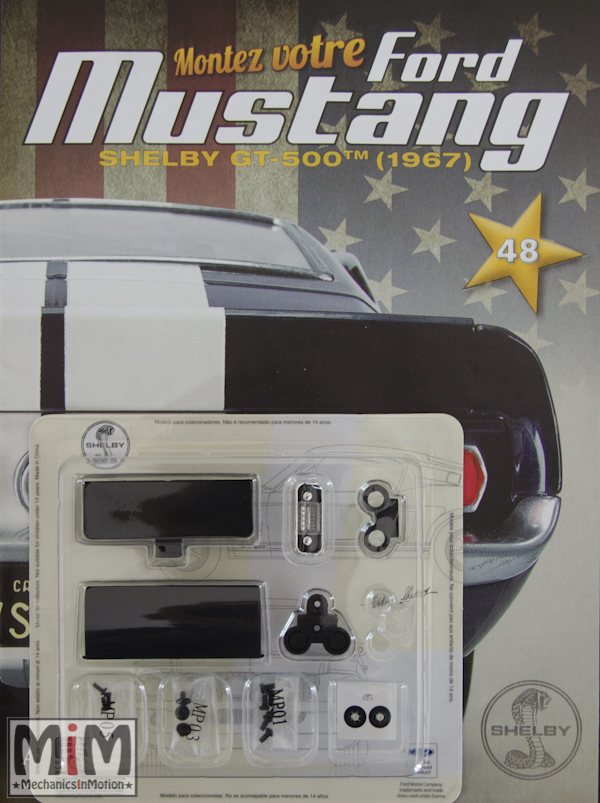 Ford Mustang Shelby GT 500 au 1:8 - fascicule 48