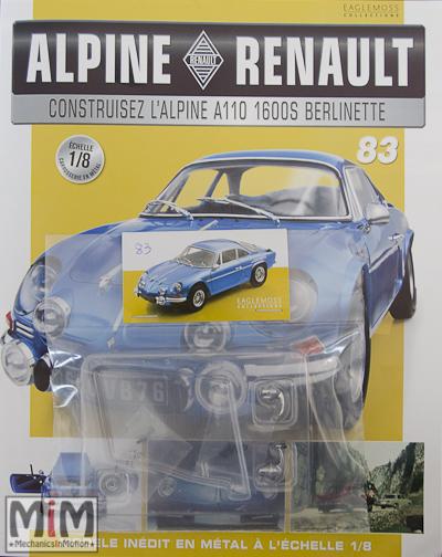 Alpine Renault A110 1600S berlinette - Fascicule 83