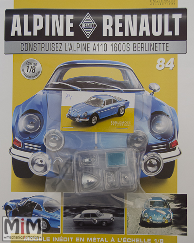 Alpine Renault A110 1600S berlinette - Fascicule 84