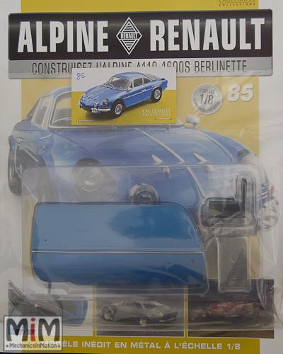 Alpine Renault A110 1600S berlinette - Fascicule 85