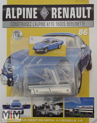Alpine Renault A110 1600S berlinette - Fascicule 86