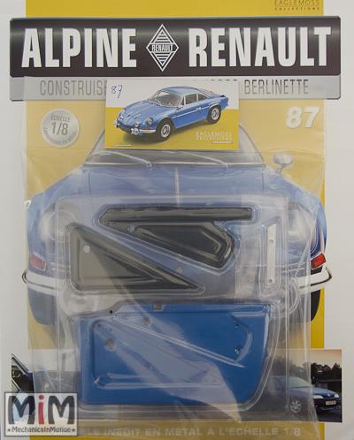 Alpine Renault A110 1600S berlinette - Fascicule 87