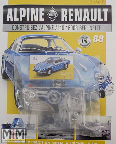 Alpine Renault A110 1600S berlinette - Fascicule 88