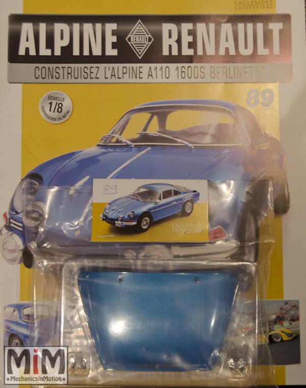 Alpine Renault A110 1600S berlinette - Fascicule 89
