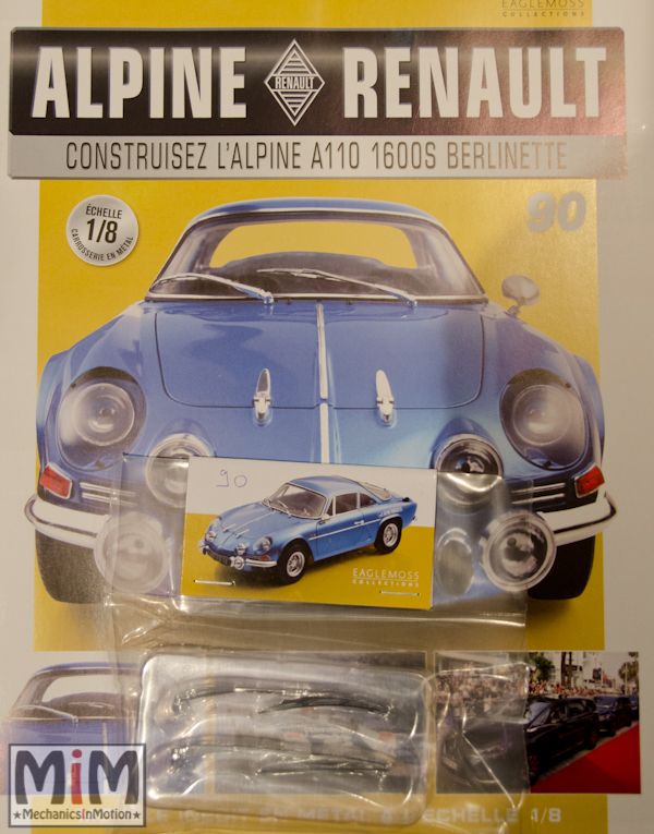 Alpine Renault A110 1600S berlinette - Fascicule 90