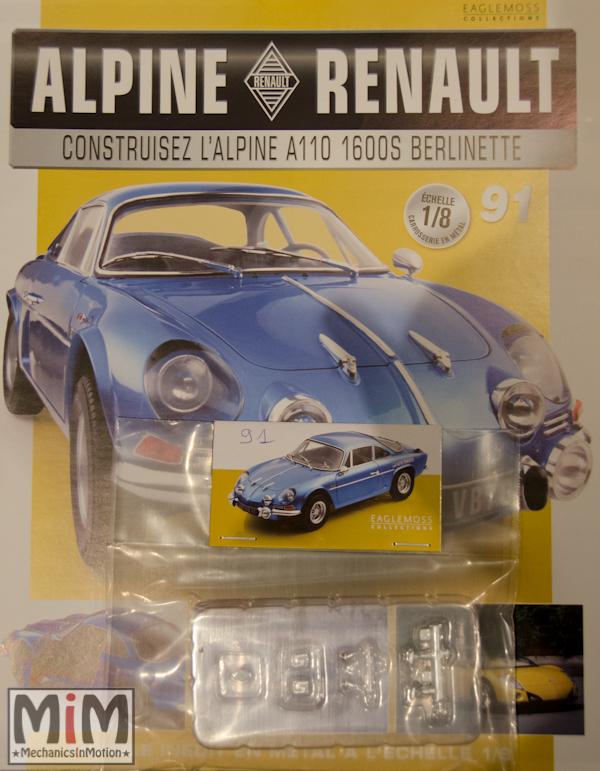 Alpine Renault A110 1600S berlinette - Fascicule 91