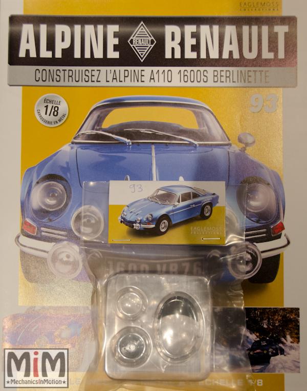 Alpine Renault A110 1600S berlinette - Fascicule 93