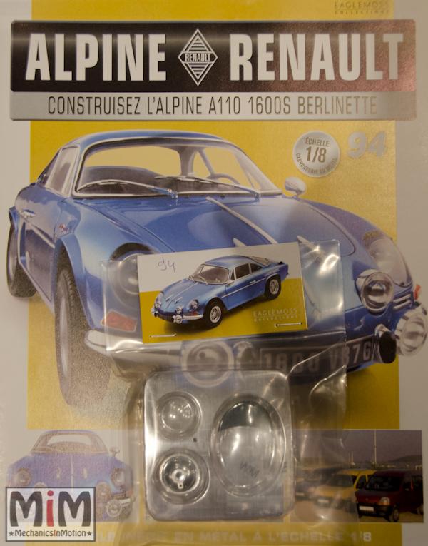 Alpine Renault A110 1600S berlinette - Fascicule 94