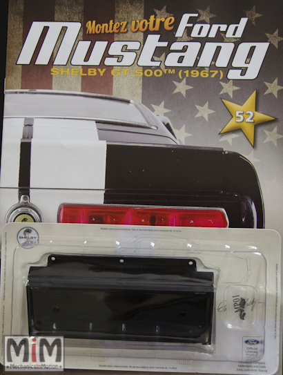 Ford Mustang Shelby GT 500 au 1:8 - fascicule 52