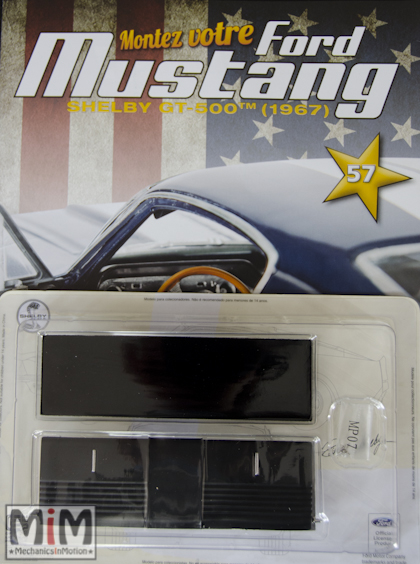 Ford Mustang Shelby GT 500 au 1:8 - fascicule 57