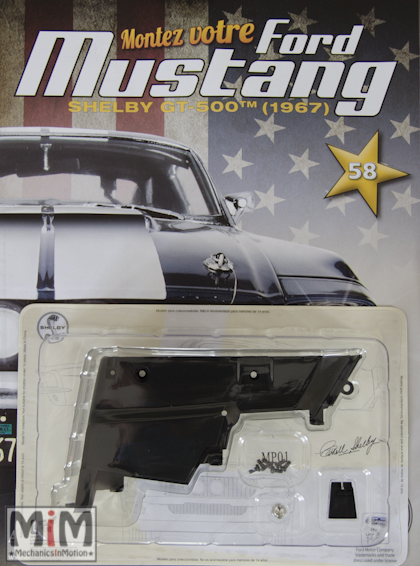 Ford Mustang Shelby GT 500 au 1:8 - fascicule 58
