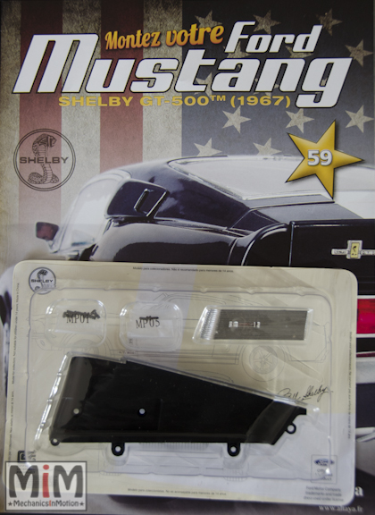 Ford Mustang Shelby GT 500 au 1:8 - fascicule 59