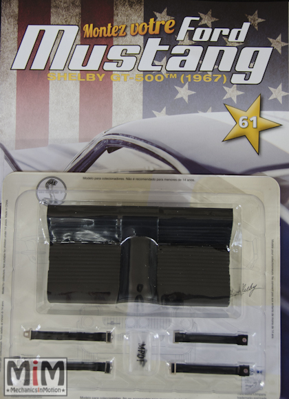 Ford Mustang Shelby GT 500 au 1:8 - fascicule 61