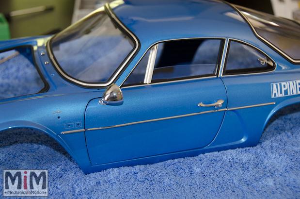 Montage Alpine Renault A110 1600S berlinette - étape 12a