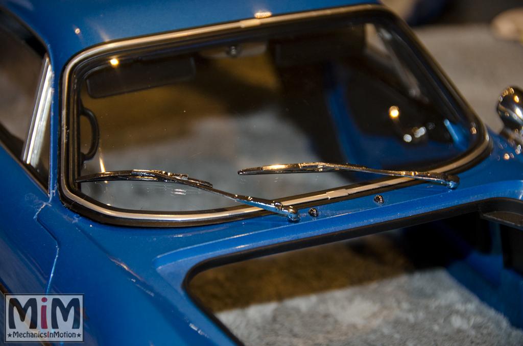 Montage Alpine Renault A110 1600S berlinette - étape 13a