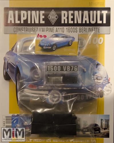 Alpine Renault A110 1600S berlinette - Fascicule 100