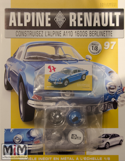 Alpine Renault A110 1600S berlinette - Fascicule 97