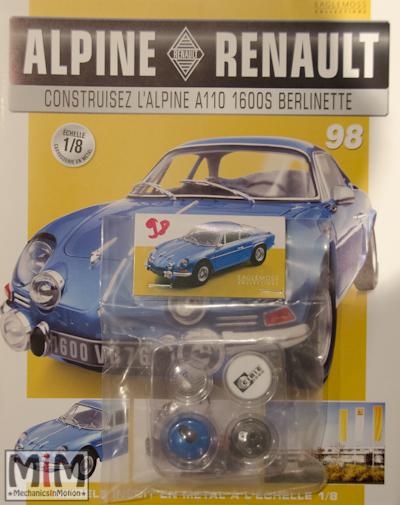 Alpine Renault A110 1600S berlinette - Fascicule 98