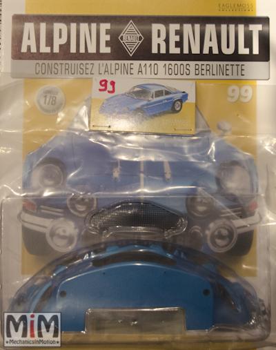 Alpine Renault A110 1600S berlinette - Fascicule 99