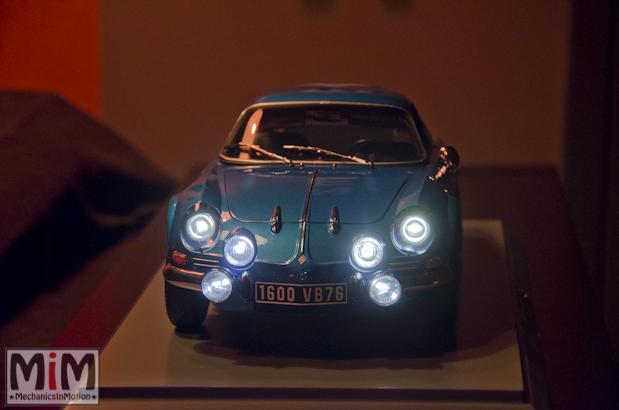 Montage Alpine Renault A110 1600S berlinette - étape 14g