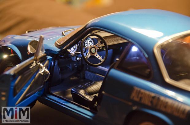 Montage Alpine Renault A110 1600S berlinette - étape 14j