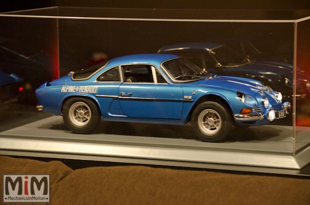 Montage Alpine Renault A110 1600S berlinette - étape 14l