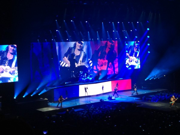 Scorpions – Paris AccorHotels Arena 2015