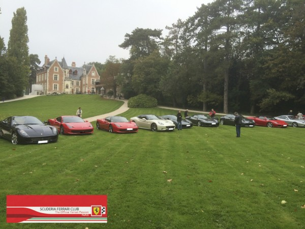 Week-end Ferrari Loire 2015 | Scuderia Ferrari Club Paris