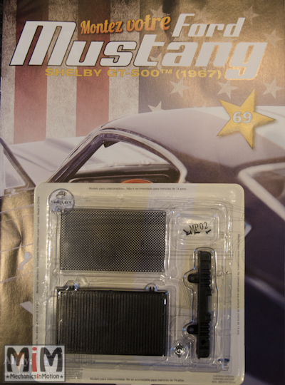 Ford Mustang Shelby GT 500 au 1:8 - fascicule 69
