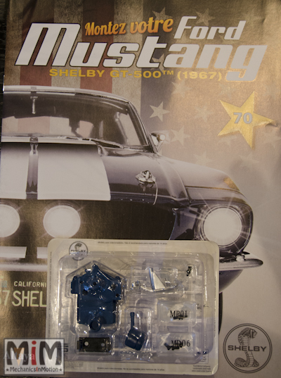 Ford Mustang Shelby GT 500 au 1:8 - fascicule 70