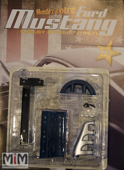 Ford Mustang Shelby GT 500 au 1:8 - fascicule 73