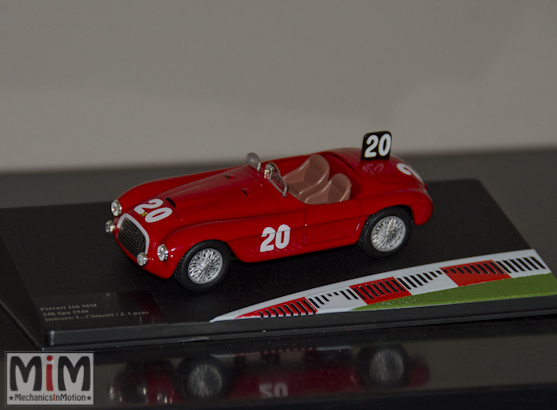 Hachette GT Collection Ferrari 166MM 24h de SPA 1949