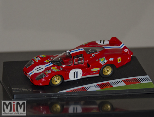 Hachette GT Collection Ferrari 512S 24h du Mans 1970