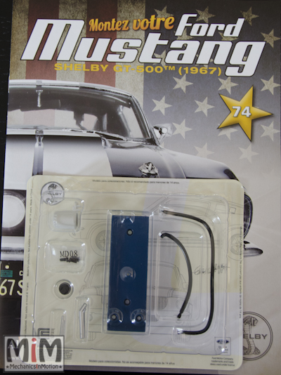 Ford Mustang Shelby GT 500 au 1:8 - fascicule 74