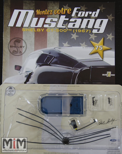 Ford Mustang Shelby GT 500 au 1:8 - fascicule 75