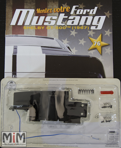 Ford Mustang Shelby GT 500 au 1:8 - fascicule 76
