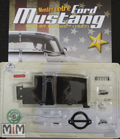 Ford Mustang Shelby GT 500 au 1:8 - fascicule 78