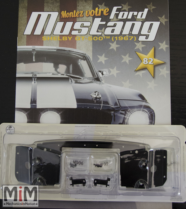 Ford Mustang Shelby GT 500 au 1:8 - fascicule 82